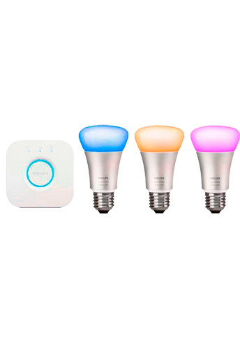Philips Hue E27 Start-kit 3-pakke