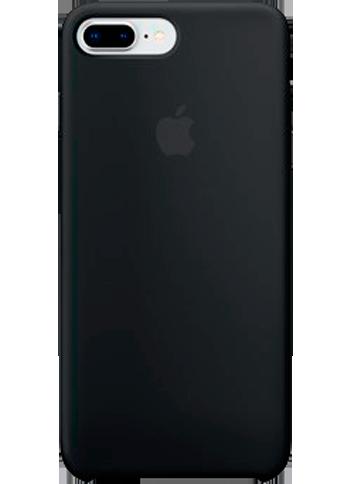 Apple iPhone 8+/7+ Silicone Case Black