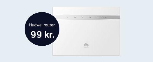 Mobilt Internet med router