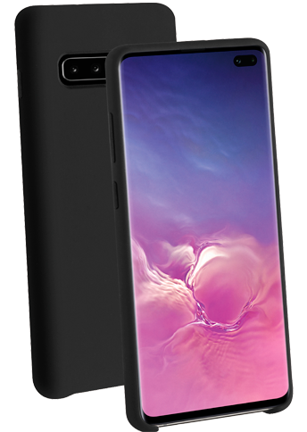 Vivanco Silicone Case Galaxy S10+