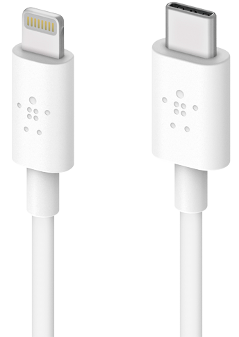 Belkin Lightning to USB-C Cable 1.2m