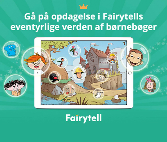 Fairytell, +4 år
