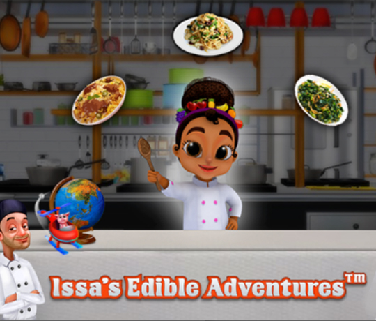 Issa's Edible Adventure, +4 år