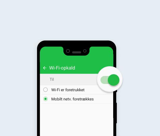 WiFi opkald på din Samsung
