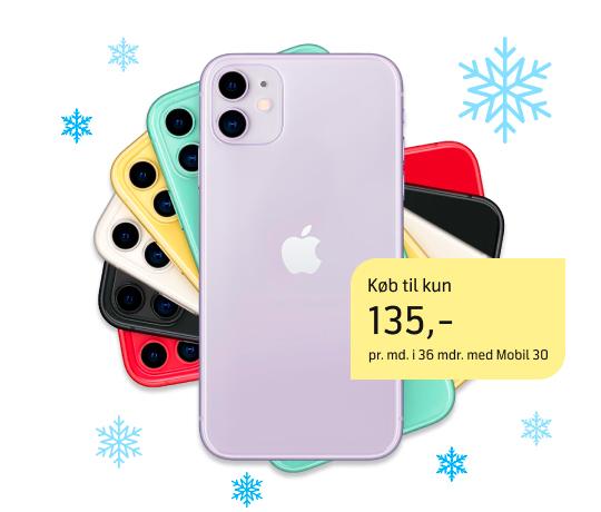 iPhone 11: Julens bedste tilbud