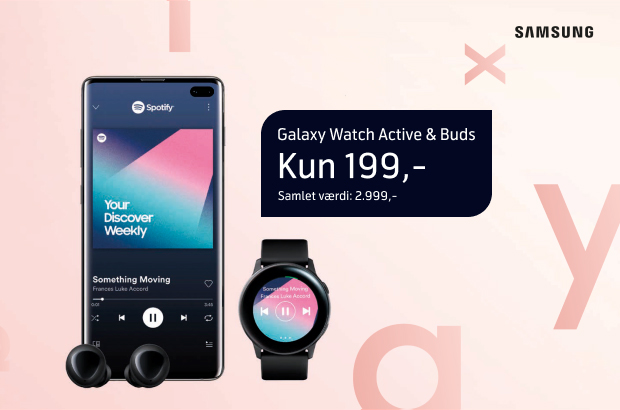 Vildt tilbud på Samsung Galaxy S10/S10+