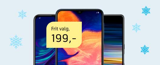 Køb ny mobil til kun 199 kr.