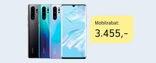 Huawei P30 Pro til 79 kr./md.