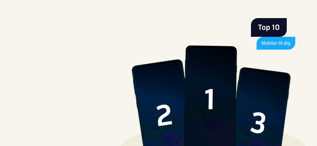 Top 10: Populære mobiler