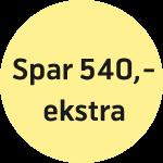 Spar 540 ekstra