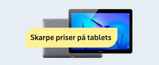 Mangler du en tablet til ferien?