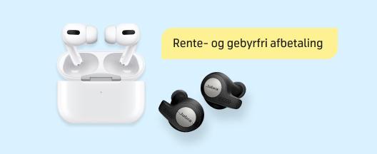 Tilbud på headsets til hjemmekontoret