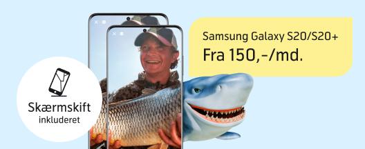 Vilde priser på Samsung Galaxy S20/S20+