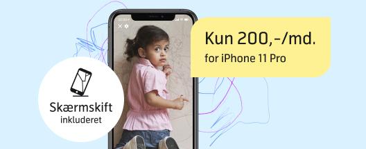 Stærk pris på iPhone 11 Pro med fri data