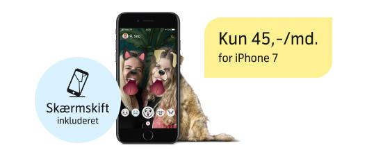 Skarp pris på iPhone 7