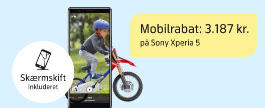 Vild mobilrabat på Sony Xperia 5