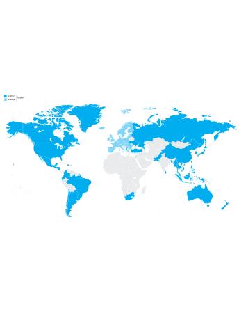 Hos Telenor dækker vi stort set hele verden