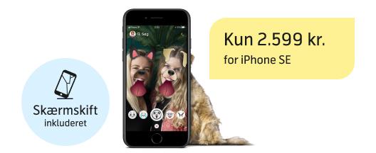 iPhone SE til en super billig pris