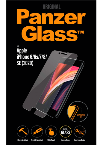 Panzerglass Anti-Microbial iPhone 8/SE