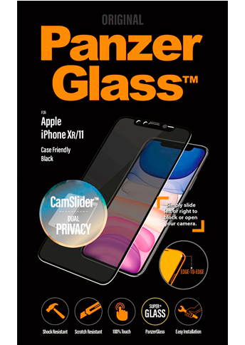 PanzerGlass Privacy iPhone 11 Cam Slider