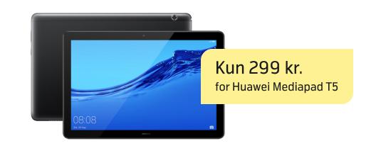 Stærk pris på Huawei Mediapad T5
