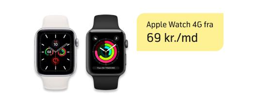Gør hver dag bedre med Apple Watch 4G