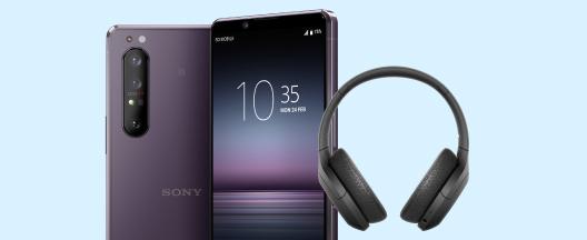Køb Sony Xperia 1 II inklusiv headset