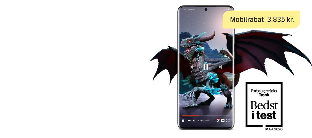 Sidste chance: VILD pris på Samsung Galaxy S20 Ultra