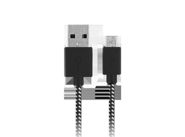 Njord flettet kabel Micro USB