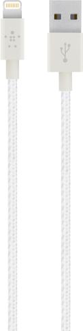Belkin Premium Lightning Kabel 1.2m MFI Hvid