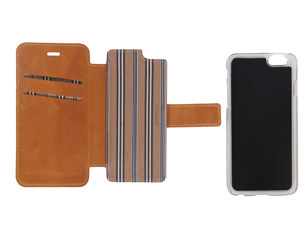 Njord iPhone 6/6S Leather 2in1
