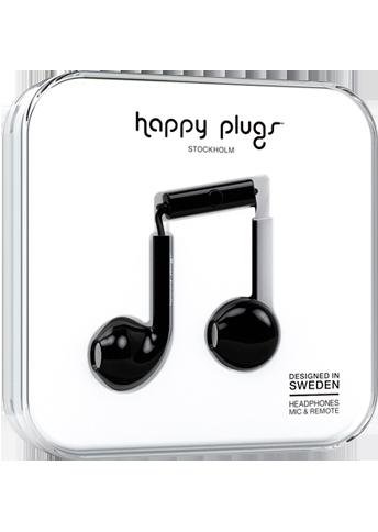 Happy Plugs Earbud Plus Black
