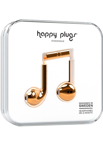 Happy Plugs Earbud Plus Gold