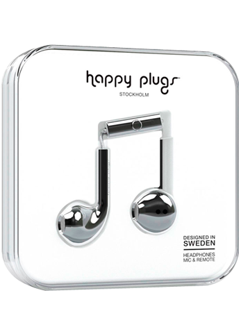 Happy Plugs Earbud Plus Silver