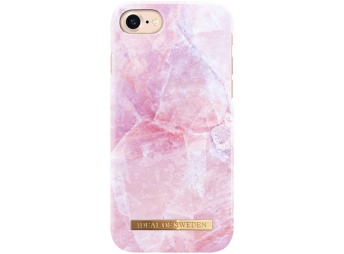 iDeal iPhone 7 Fashion Case Pilion Pink Marble