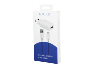 Njord Wall Charger 2.1A USB C