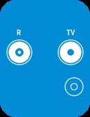 Kabel tv-stik