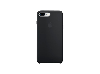 Apple iPhone 8+/7+ Silicone Case Black